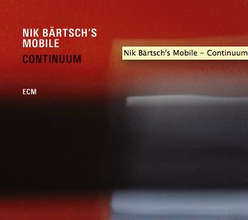 Nik Bärtsch – Continuum