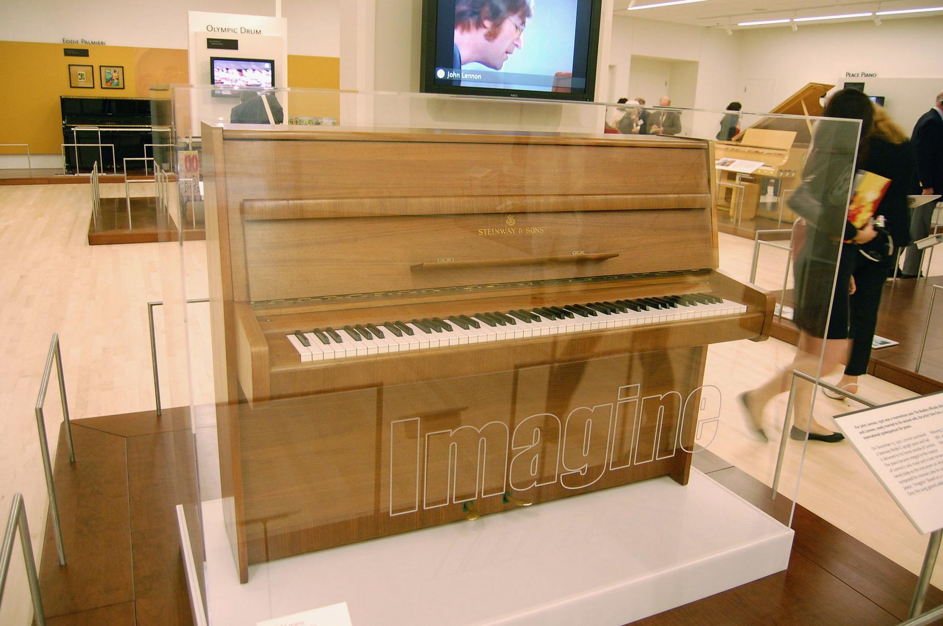 John Lennon's Steinway Model Z